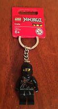 LEGO 853099 HTF Ninjago Cole Minifigure Key Chain Keychain NEW