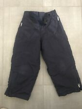 Boys Gap Snow Ski Snow Pants Sz 4 Navy Blue Fleece Lined