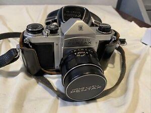 Honeywell Pentax H1a Camera w/ Asahi Super Takumar 1.2 55mm Lens