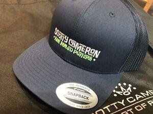 Scotty Cameron Gallery Release Adjustable Hat Circle T Blue Malibu Script