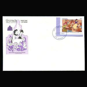Grenada, FDC, Disney, Snow White & Seven Dwarfs, G108-A