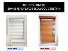 New cedar brown 50mm venetian ecowood / pvc timber look from $35