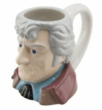 Jon Pertwee - The 3rd Doctor Who - 3D Ceramic 'Toby' Style Collectors Mug