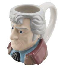 """Jon Pertwee-il 3rd Doctor Who - 3D in ceramica """"Toby"""" stile Tazza da collezione"""