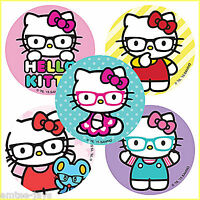 Hello Kitty Stickers x 5 - Optometrists - Eyewear - Glasses - Birthday Party