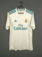 Real Madrid jersey 2017 2018 Home M Shirt Adidas Football Soccer AZ8059 ig93