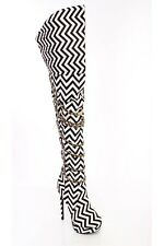 Lot Thigh High Heel Boots Scrunch Fringe Faux Leather Suede Quilted Stiletto