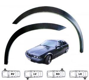 BMW 3 E36 COMPACT Radlauf Zierleisten SCHWARZ Vorne Hinten Satz 4 Stück Bj 94-00