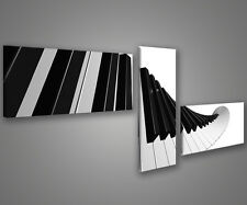 Quadri moderni pianoforte 180 x 70 stampe su tela canvas intelaiate MIX-S_119