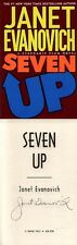 Janet Evanovich SIGNED AUTOGRAPHED Seven Up HC *Stephanie Plum* 1st Ed/1st Print
