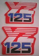 Yamaha YZ125 Motocross Tanque Pegatinas Calcomanías Gráficos £ 8.95 Post Gratis