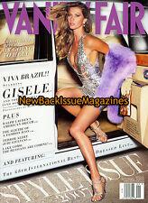 Vanity Fair 9/07,Gisele Bundchen,September 2007,NEW
