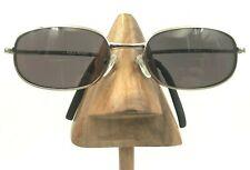 Vintage Polo Ralph Sport 1093/N/S TW3 RA Silver Metal Oval Sunglasses Frames