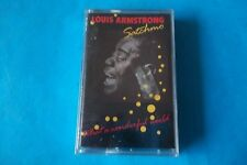 "LOUIS ARMSTRONG  ""WHAT A WONDERFUL WORLD"" MC K7 TAPE 1988 POLYGRAM"