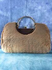 Vintage Australian Kangaroo Fur Clutch Bag by Lispeer
