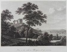 MEISSEN SIEBENEICHEN ELBE KUPFERSTICH FRENZEL HAMMER 1820 Meißen J55