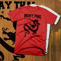 Muay Thai T-Shirt Thai Boxing Sak Yant Kickboxer Full Contact Martial Arts Snake