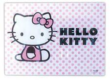 Hello Kitty Vidrio Protector De Calor O Placa De Corte Vidrio Pesado