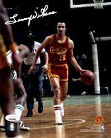 Lenny Wilkens autographed signed 8x10 photo NBA Cleveland Cavaliers JSA COA
