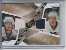 08/09 UD SPX Jordan Staal / Eric Staal Winning Combos Dual GUJ #WC-SS Ltd #95/99