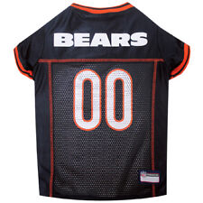 Chicago Bears NFL Pets First Licensed Dog Pet Mesh Jersey Navy, XS-XXL NWT