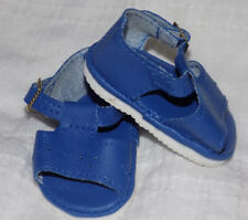 Dark Blue Color Sandals Shoes Fit American Girl Wellie Wishers Dolls and H4H