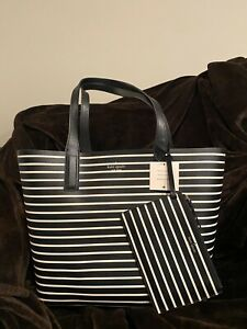 New With Tag!! Kate Spade Reversible Tote with Detachable Zipper Pouch