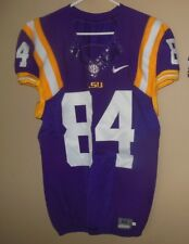 LSU TIGERS GAME USED FOOTBALL JERSEY