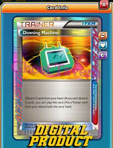 Dowsing Machine 128/135 ACE SPEC - PLS Pokemon TCG Online PTCGO(In-Game)