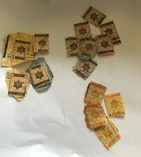 Judaica  Palestine Rare Israel Revenue  Stamps Tel Aviv   Entertainment  Tax lo