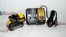 New Two (2) DeWalt DCB120 12V Max Li-Ion Battery & One Charger DCB107