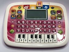 VTech Little Apps Learning Laptop Tablet Pink Girls 1394 Tested and Working.