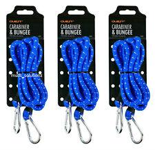 """3Pcs Bleu 60"""" Heavy Duty élastique cordon élastique golf ~ Toit Voiture Rack Corde Sangles"""