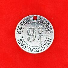 5 xTibetan Silver Harry Potter Hogwarts Express 9 3/4 Platform Kings Cross Charm