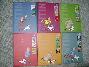 TINTIN, COMPLETE SET OF ALL 6 CROATIAN BOOKS