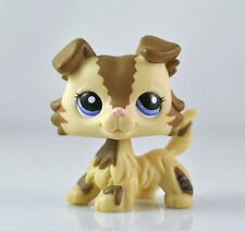 Pet Collie Dog Child Girl Figure Littlest Toy Loose Cute Xmas LPS962