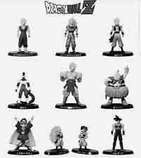 Bandai Dragon ball Z Soul of Hyper Figuration Vol 5 Monochrome Figure Set of 9