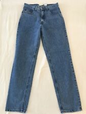 Men's ABERCROMBIE & FITCH Blue Zip Fly Denim Jeans Size 32X34 NEW VTG EASY FIT