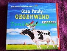 CD HÖRBUCH SYLT KRIMI HUMOR   GISA PAULY   GEGENWIND   MAMMA CARLOTTA № 10