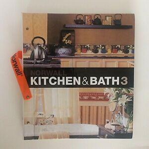Wallpaper Sample Book Norwall Kitchen & Bath 3 Scrapbooking Card Making Crafts