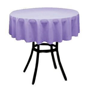 """Tablecloth Round 54"""" for Wedding, Restaurant, Baby Shower, Home, Coffee Table"""