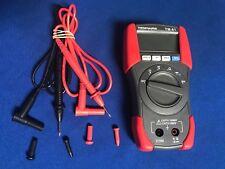 Auto. MultiMeter Measure:DC V,AC sine V,Resistance,Continuity,Diode Hitech US QC