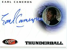 JAMES BOND DANGEROUS LIAISONS EARL CAMERON AS PINDER IN THUNDERBALL AUTOGRAPH
