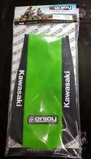 Kawasaki KX 125 250 2003 - 2008 Gripper logo Seat Cover Black Green Motocross