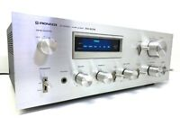 PIONEER SA-608 Stereo Amplifier Vintage 1979 90W RMS Blue Line Hi End Good Look