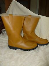 Equitector laine cuir doublé Yard Boot R RP £ 250 UK 8 made in England