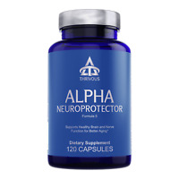 Thrivous Alpha: Anti-Aging Nootropic Brain Booster Supplement Ginkgo ALA