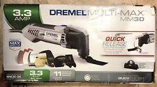 Dremel MM30-04 Multi-Max Oscillating Tool Kit w/ 10 Accessories & Carrying Bag