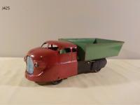 Vintage Wyandotte Pressed Steel Dump Truck TOY