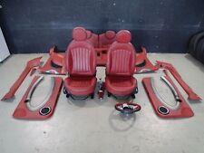 Mini Cooper S R56 Ledersitze Sportsitze + Rücksitzbank Türverkleidungen Redwood